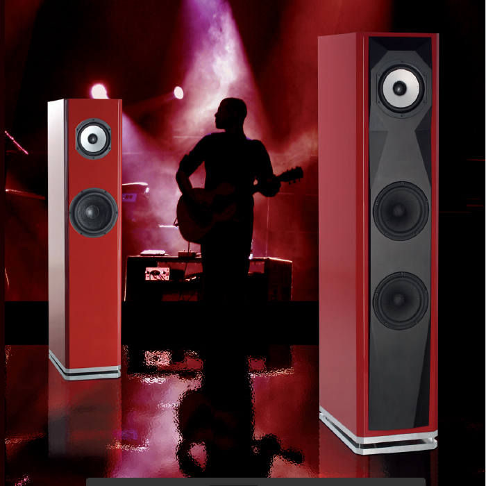 Webdesign & Print Simerman Loudspeakers